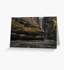 Lake Falls Water Level Greeting Card