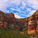 Sedona Majestic Mountains by CDNPhoto