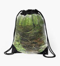 mountain passage Drawstring Bag