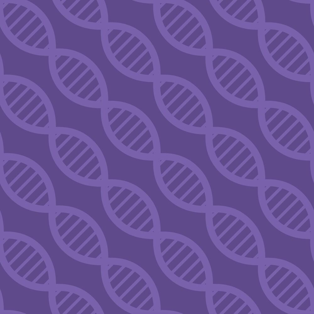 DNA Stripes by Valerie Bennett