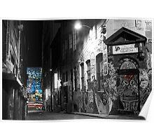 Hosier Lane, Melbourne Poster