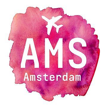 AMS Amsterdam cherry by Aviators