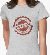 So FASoS Logo Women's Fitted T-Shirt