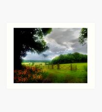 Gorhambury Estates Art Print