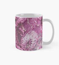 Pink Fuchsia Lace Mug