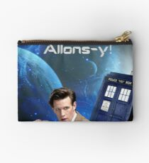 Dr. Who collage/Allons-y! Studio Pouch