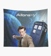 Dr. Who collage/Allons-y! Wall Tapestry