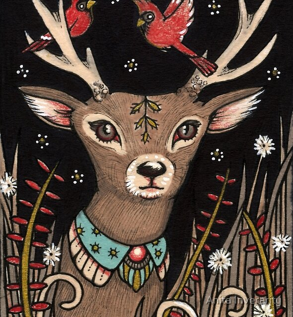 The Smallest Stag by Anita Inverarity