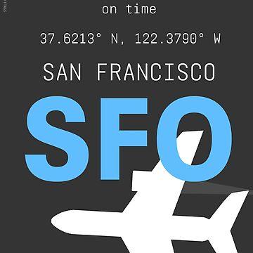 San Francisco Blue Sky by Aviators