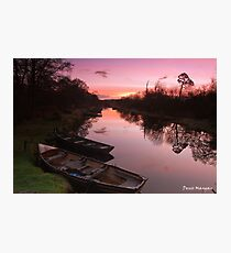 Ross Island Sunrise Photographic Print