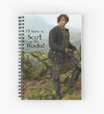 I'll have a Scot on the Rocks!  Spiral Notebook