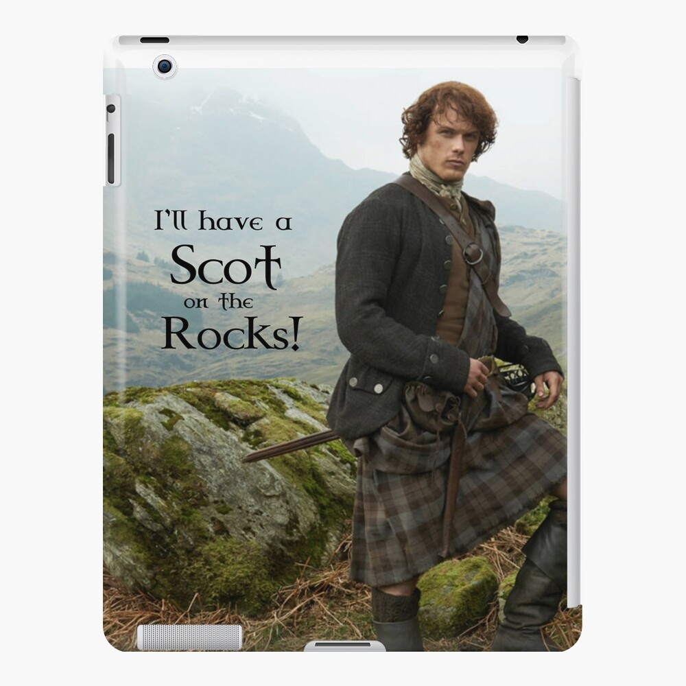 I'll have a Scot on the Rocks!  iPad Case & Skin