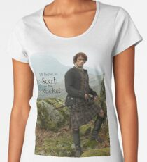 I'll have a Scot on the Rocks!  Women's Premium T-Shirt