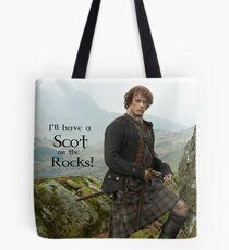 Bolsa de tela ¡Tendré un escocés en las rocas!