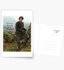I'll have a Scot on the Rocks!  Postcards
