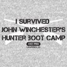 I Survived Hunter Boot Camp by PhantomKat813