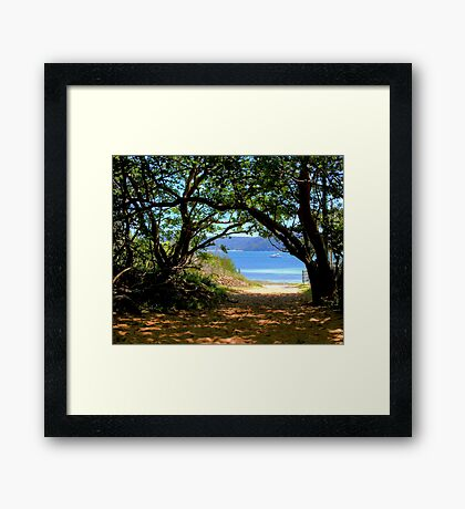 Station Beach - Sydney - Australia Framed Print
