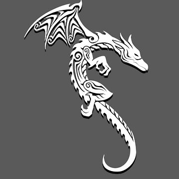 White Dragon Tribal by Corpsecutter