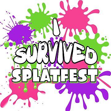 I Survived Splatfest by GoMerchBubble