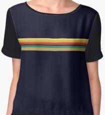 Whittaker Rainbow Doctor Shape Thirteen T Shirt Chiffon Top