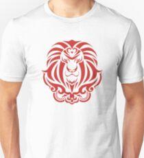 Zodiac Sign Leo Red T-Shirt