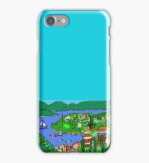 Agios Stefanos from above iPhone Case/Skin
