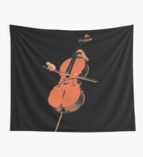 The Cello Wall Tapestry