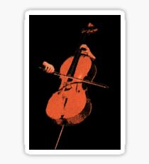 The Cello Sticker