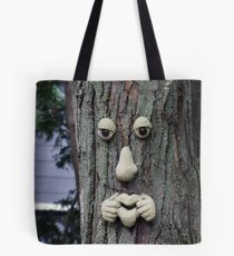 The real  face of tree Tote Bag