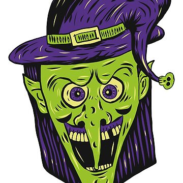 Retro Halloween Witch by MOREDANKMEMES