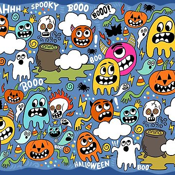 Halloween Cartoons by Bethany-Bailey