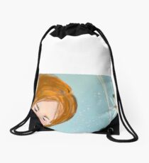 Sweet Romance Drawstring Bag