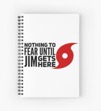 Nothing to Fear Spiral Notebook