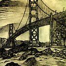 Golden Gate Bridge von Karmic Catastrophe