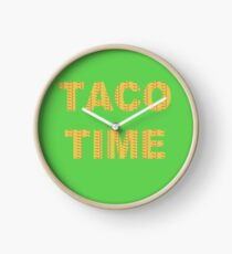It's Taco Time!!  Clock