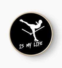 FIgure skating is my life Clock