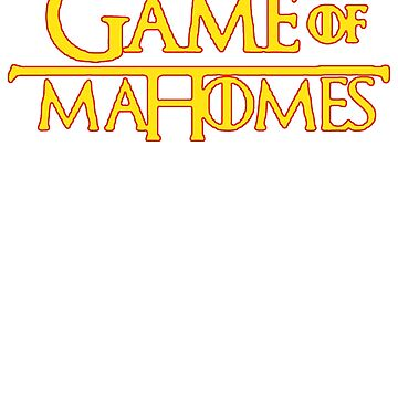 Game of Mahome's Parody T-Shirt by NorthAmericaTs