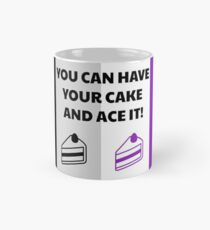 Asexual Flag You Can Have Your Cake And Ace It Asexual T-Shirt Mug