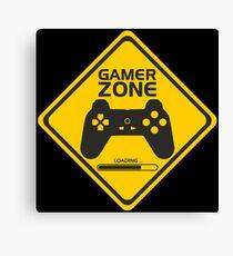 Gamer Zone Canvas Print