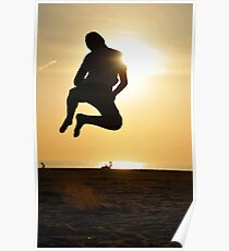 Beach Fun - Praia da Falesia, Algarve Poster