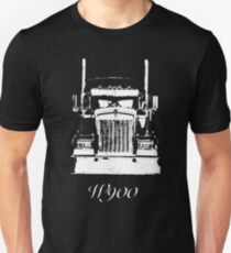 Kenworth W900 Grill View Worn Look T-Shirt Unisex T-Shirt