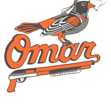 Omar The Wire Baltimore Oriole T Shirt by NorthAmericaTs
