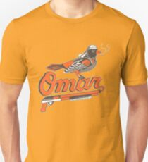 Omar The Wire Baltimore Oriole T Shirt Slim Fit T-Shirt