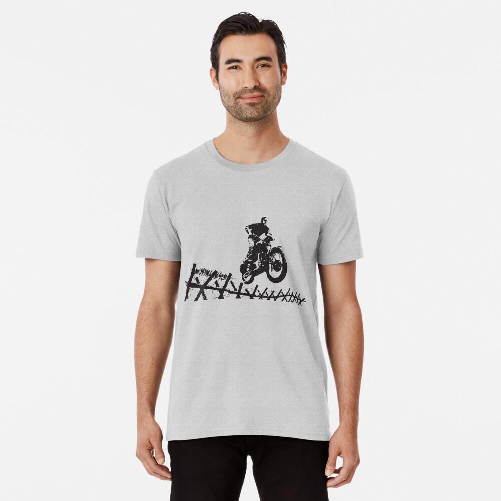Steve McQueen Jump Men's Premium T-Shirt Front
