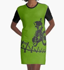 Steve McQueen Jump Graphic T-Shirt Dress