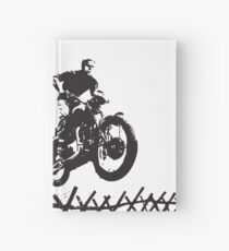 Steve McQueen Jump Hardcover Journal