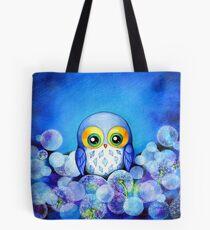 Lunar Owl Tote Bag