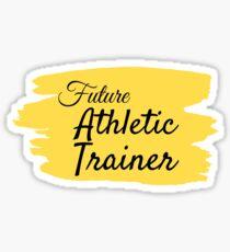Pegatina Futuro entrenador atlético