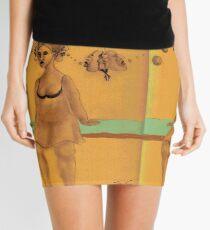 Run away Imagination, a mini fantasy Mini Skirt