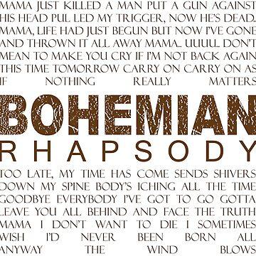 Bohemian Rhapsody Lyrics by metalcharisma